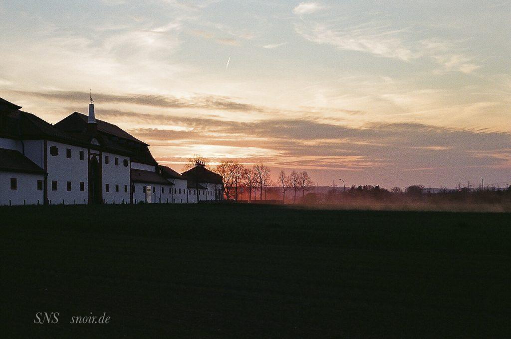 Schloss Seehof - analog mit Canon AE-1 aufgenommen